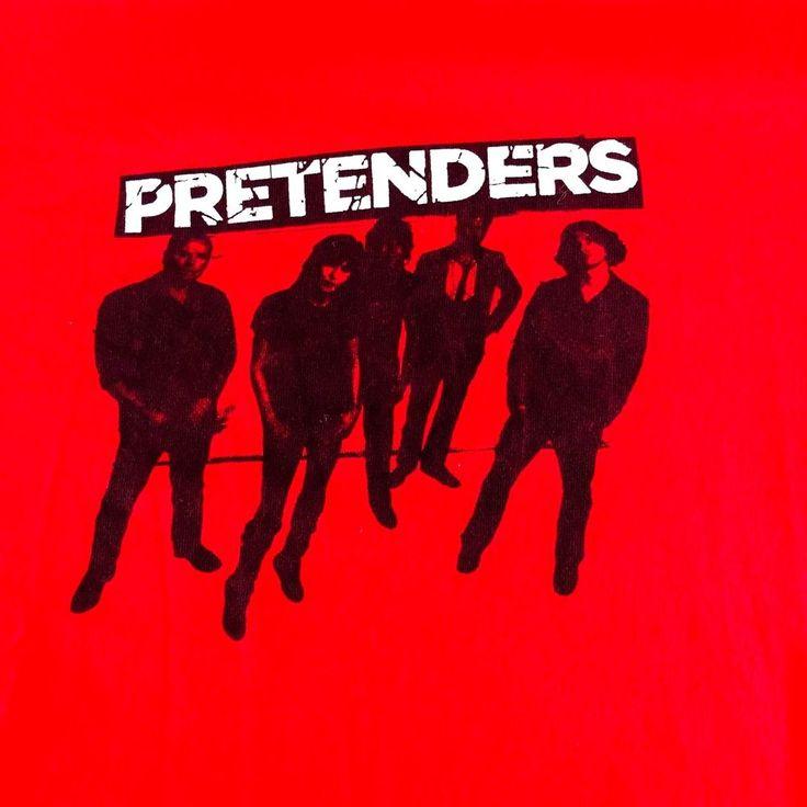 Pretenders Adult Large Shirt Rock Band T-shirt #Anvil #GraphicTee