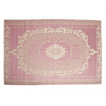 Recycled Picnic Rug (pink) - to use as a mat for Scarlett's corner in the lounge room.