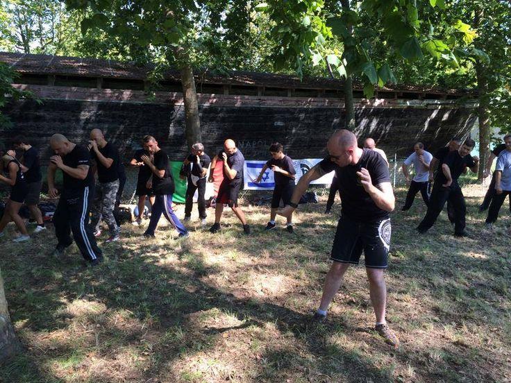 #allenamento al parco. #KravMaga #IKMF