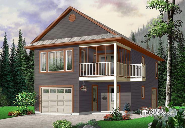 Détail du plan de Maison unifamiliale W2933
