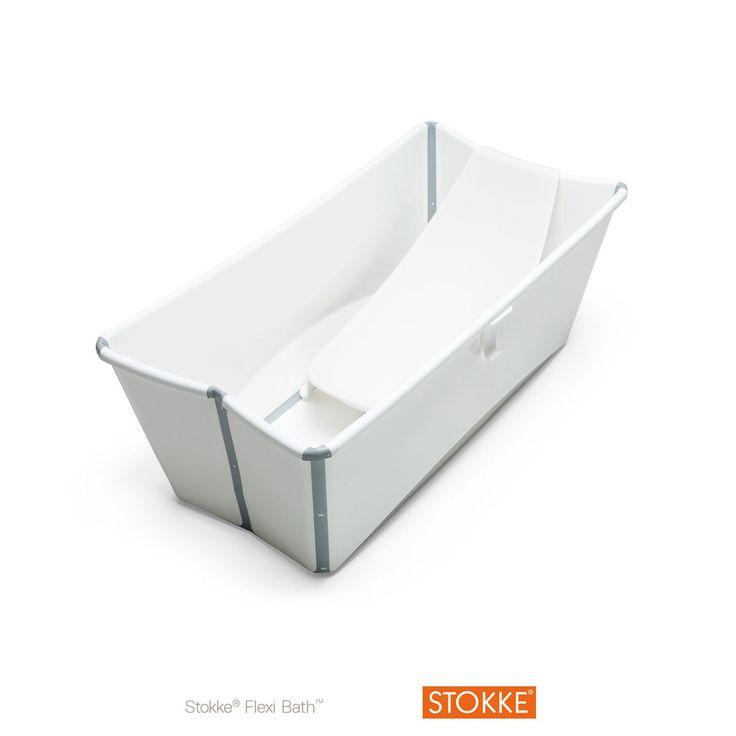 Avec son design unique pliable, cette baignoire est facile à ranger et pratique à utiliser. Ouvrez-la, remplissez-la et partagez avec votre enfant l'heure du bain où que vous soyez. Les nouveau-nés connaissent bien la sensation que procure l'immersion en eaux tièdes et le bain peut s'avérer un moment réconfortant et amusant pour interagir avec votre enfant. La baignoire primée Stokker Flexi BathTM procure à votre enfant sécurité et confort au moment de prendre son bain. Le bouchon de vidage…