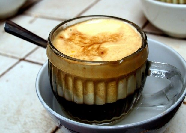 Oh I love this! Here is the full recipe for Vietnamese Egg Coffee - great stuff and really hard to find a recipe for this! Have you had it?