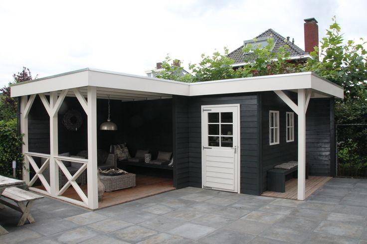 Functioneel tuinhuis met heerlijke veranda