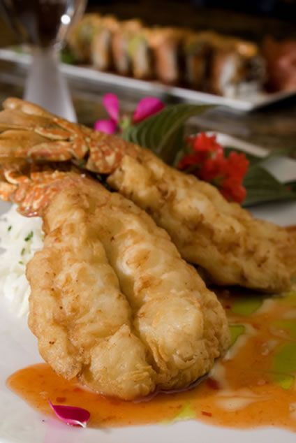 Tempura Lobster Tails with Sweet 'n Sour Sauce _ These lobster tails are really good. They are coated in a tempura batter, then served with a homemade sweet & sour sauce for perfect harmony. You will love the flavors.