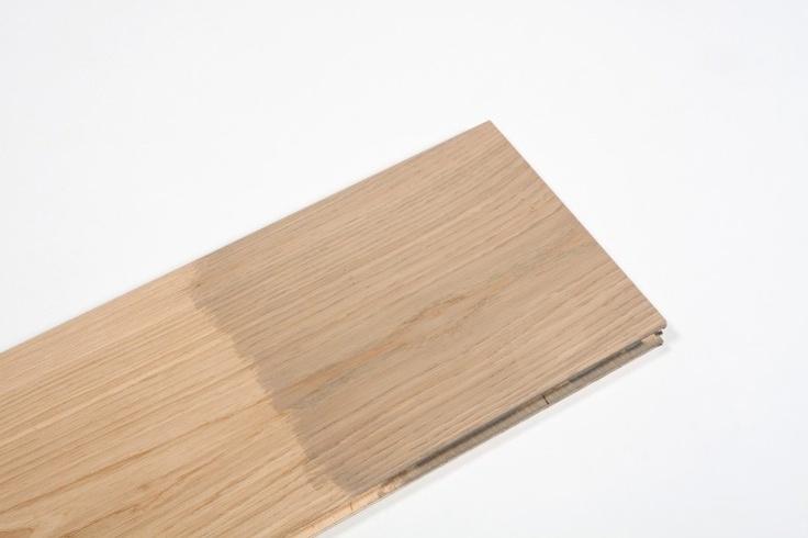 Wax oil pebble stain #Floorboards