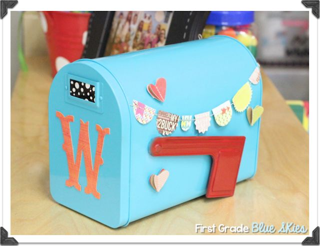 valentine day mailbox cereal box