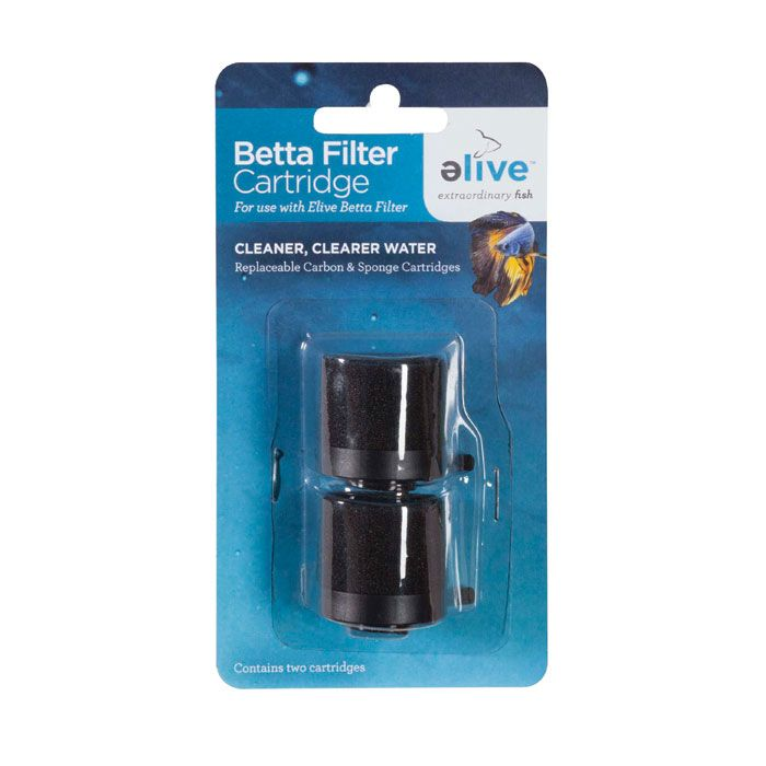 Elive betta filter cartridge 2 pack betta aquariums for Betta fish tank with filter