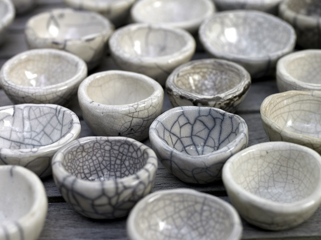 I love ceramics, especially when it's been fired in a Raku glaze