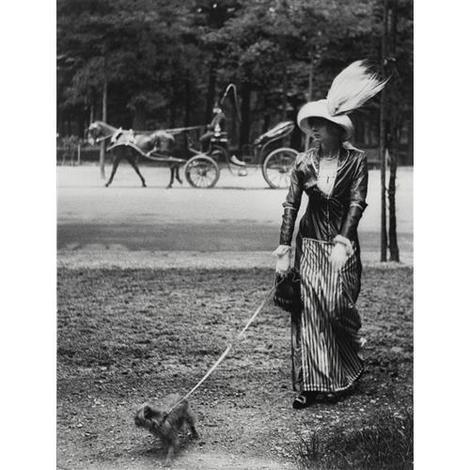 Jacques Henri Lartigue, Marie Lancret a well-known demi-mondaine who I found particularly seductive, circa 1906 on ArtStack #jacques-henri-lartigue #art