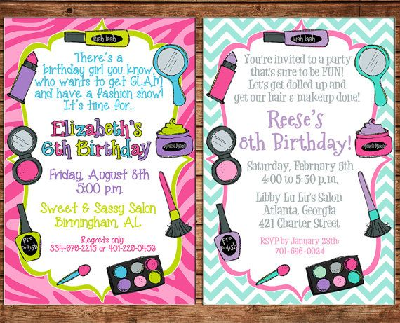 13 best Makeover Party images – Makeover Party Invitations