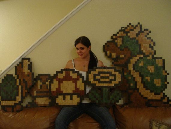 Nintendo Wall Art 54 best gamer walls images on pinterest | pac man, boy rooms and