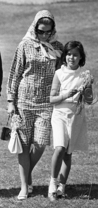 Grace Kelly and Caroline