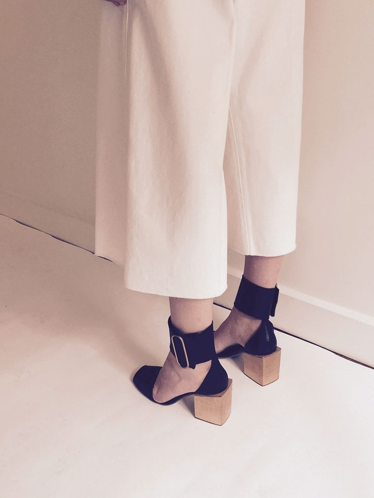 Behind the Scenes, Lemaire shoot in Paris for Spring/Summer 2016.http://www.lagarconne.com/store/item/89-2501-2498/35904/Lemaire-Block-Heel-Sandal.htm