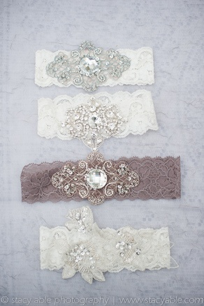 very pretty garters from emily riggs bridal on wedzu