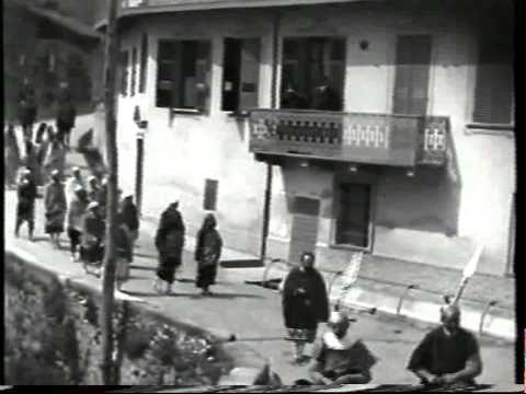 La Passione di Sordevolo - 1924 - YouTube