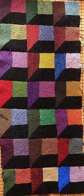 Ravelry: angelaxxx's 3D Blanket