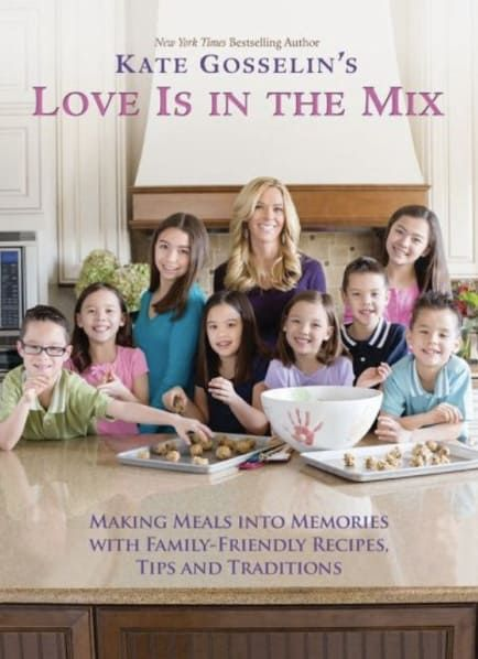 Yes, this exists. The mom of eight created this cookbook back in 2013 and I honestly can't fathom taking care of so many kids WHILE writing something like this, BUT SHE DID IT! I meeean, who doesn't want the Gosselin family recipe for a hearty meatloaf? (Don't answer that.)Get it on Amazon for $13.77.