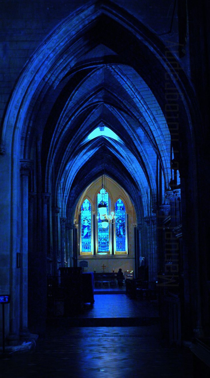 Cobalt Blue chapel with <3 from JDzigner. www.jdzigner.com