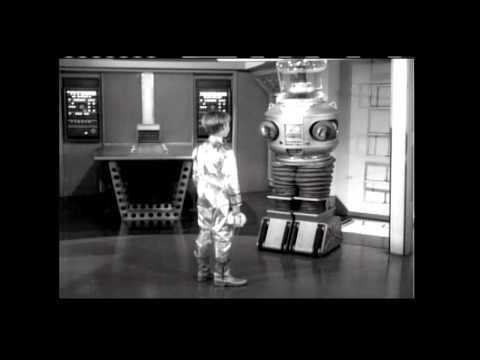 Lost in Space STS-117 B9 Robot Presentation Video - YouTube