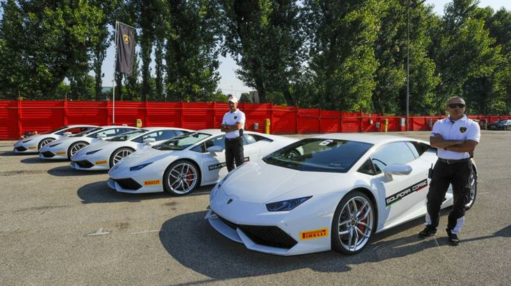 Huracán protagonista di Accademia Lamborghini