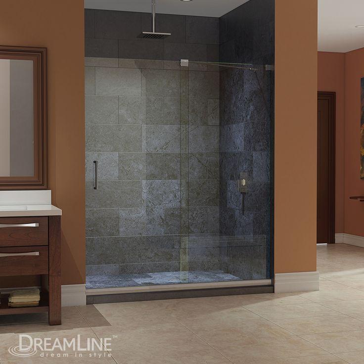 shdr frameless shower bathtub door doors tub dreamline infinity showers