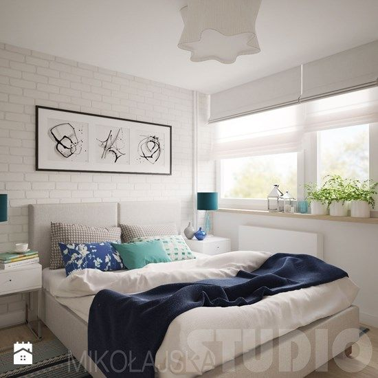 sypialnia nad morzem - zdjęcie od MIKOŁAJSKAstudio