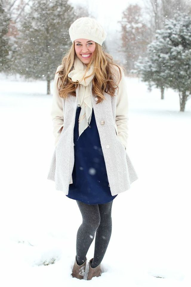 Snow Day Outfit fashion DRESS CODE Pinterest