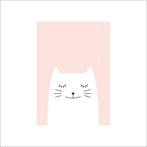 """Bilder - Kunstdruck / Bild / Poster """"Katze"""" - ein Designerstück von TypicalMe bei DaWanda"""