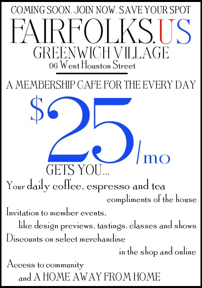 $25 monthly membership cafe on houston st, slated to open in sept! enter promo code KYLEH & receive $10 OFF your first month. [pay only $15] don't miss out... it's gonna be HUGE!