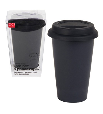 Чашка I Am Not A Paper Cup™ - Black  A very brutal one :)
