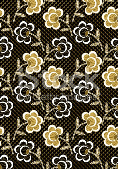 seamless floral flower royalty-free stock photo