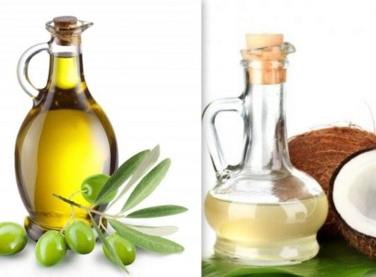 Coconut and olive oil