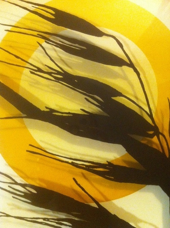 Wheat Dimensional Silk Screen Print by Virgil Thrasher 1973 $299.00
