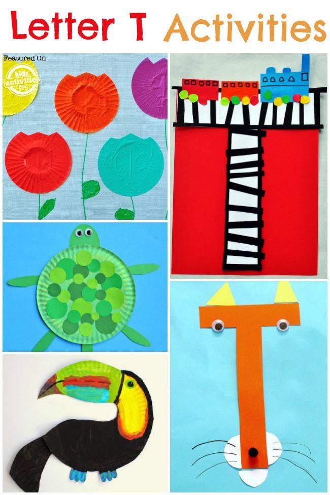 16 Letter T Crafts Activities Kids Activities Blog Letter T Crafts Letter T Activities Preschool Letter Crafts Letter t activities for kindergarten