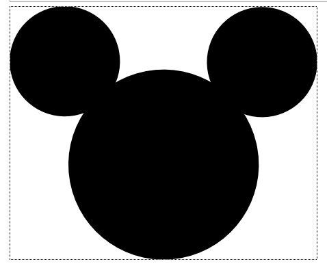 large mickey mouse head template - best 25 mickey mouse clipart ideas only on pinterest