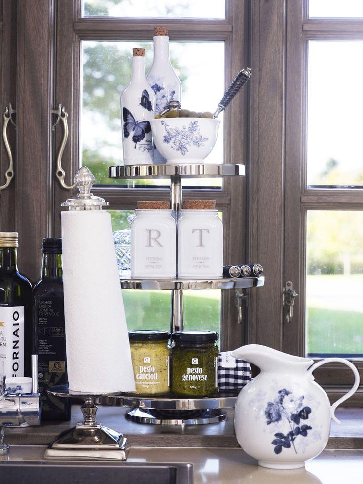 Lene Bjerre - SPRING 2013. MOLLY jug and BELLARA paper towel holder at Dansk Home Accents.