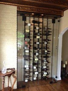 VintageView racks on floor to ceiling frames