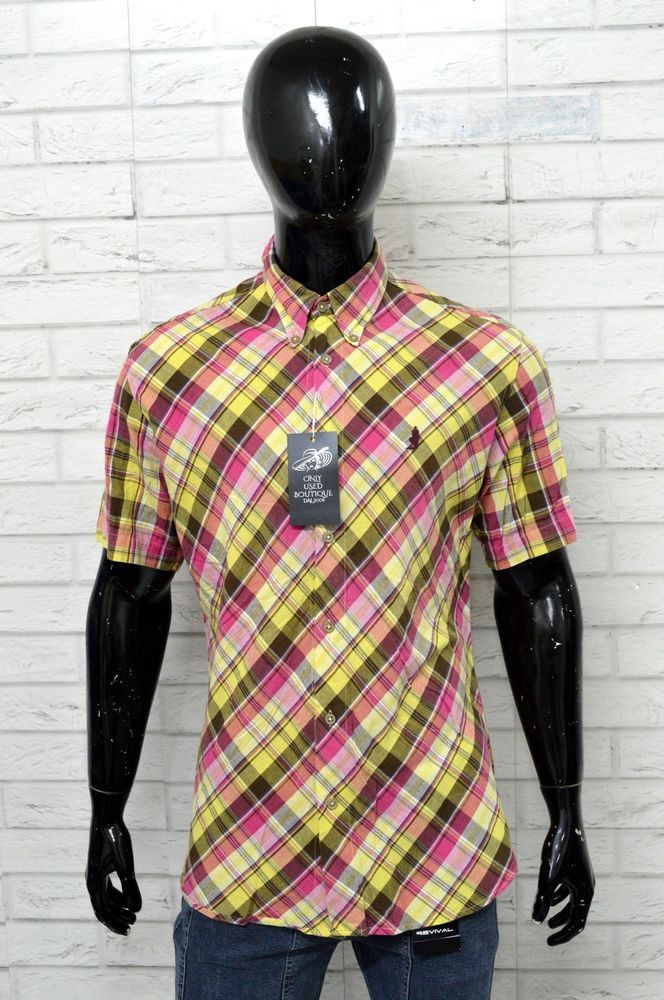Taglia Camicia Uomo Dettagli CLASSICS Maglia MARLBORO XL Shirt su Iwzqp