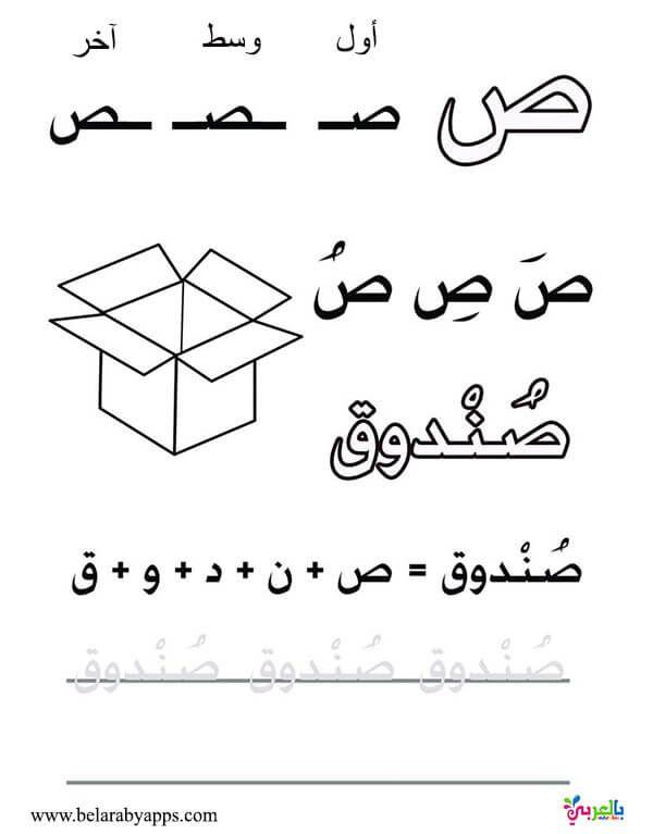 اوراق عمل لتعليم كتابة الحروف العربية للاطفال للطباعة اوضاع الحروف في الكلمه بالعربي نتعلم Learn Arabic Online Arabic Handwriting Learn Arabic Alphabet