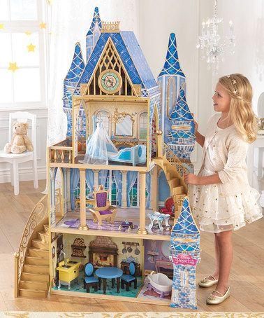 Loving this Disney Cinderella Royal Dream Dollhouse on #zulily! #zulilyfinds