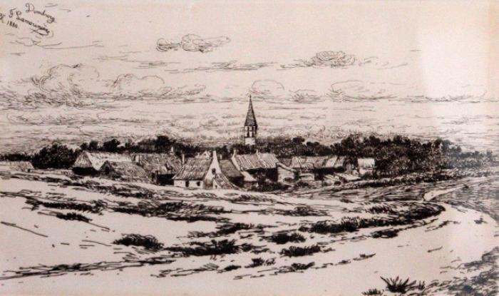 Jean Pierre François Lamorinière, Domburg, 1880