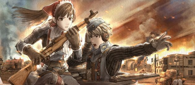 Valkyria Chronicles -- classic strategy game set during a fictionalized World War II.  Beautiful anime graphics and memorable story.