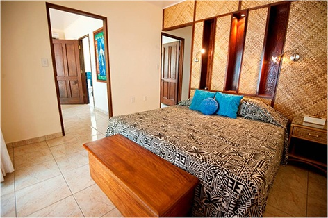 Accommodation with a Samoan touch. Sinalei Reef Resort  Spa, Samoa  www.islandescapes.com.au