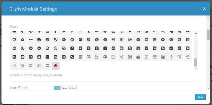 Adding Custom Icons to Divi