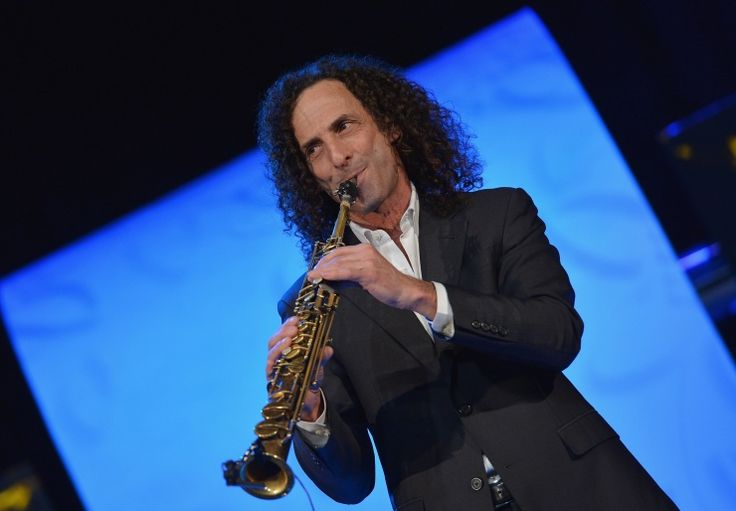 He's just too smooth. Kenny G provides a mellow groove during a performance on Jan. 14 in New York: Photo