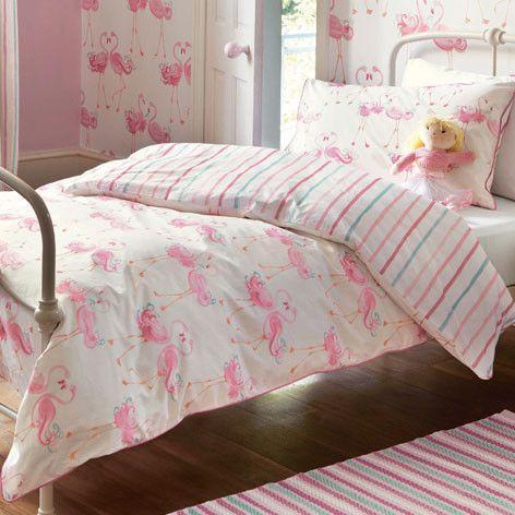 Flamingo Printed Bedset