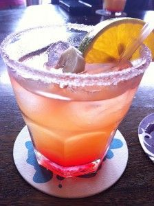 The Hot Caribbean - a newly featured drink at the Hard Rock Hotel & Casino in Punta Cana, Dominican Republic.  Delicious!