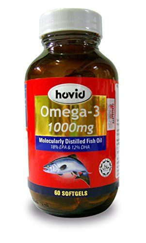 HOVID Omega 3 1000Mg 180 Capsules ** You can get more details by clicking on the image.