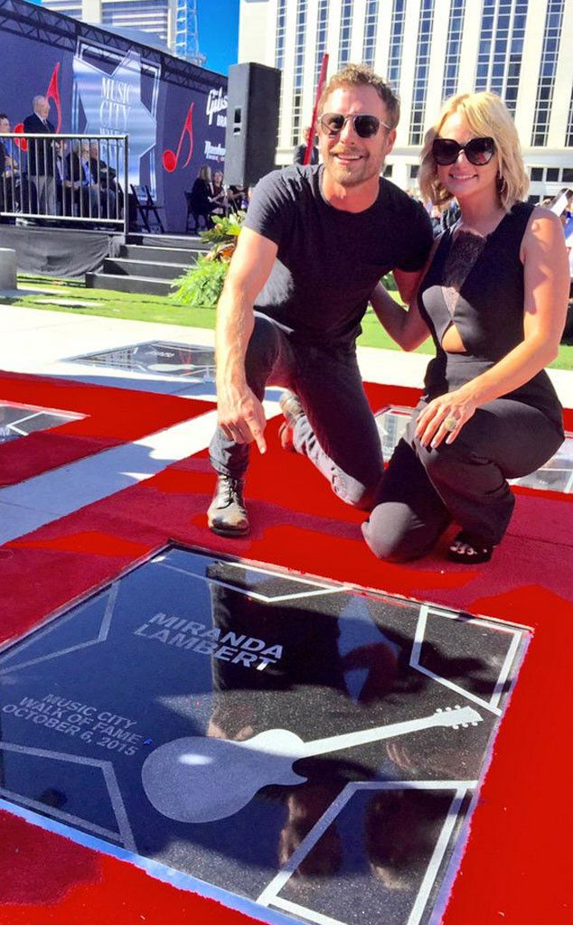 Miranda Lambert Honored With a Star on Nashville's Music City Walk of Fame  Miranda Lambert, Dierks Bentley