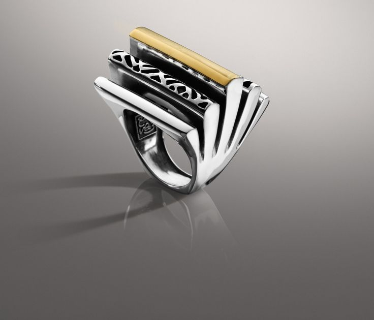 Azza Fahmy Stack Ring . . .